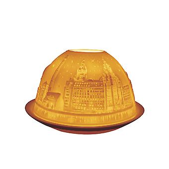Light Glow Dome Tea Light Holder, Liverpool