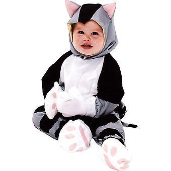 Grey Kitty Toddler Costume