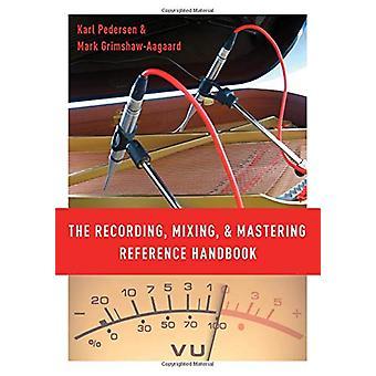 A gravação - mixagem - e masterização manual de referência pelo Reco