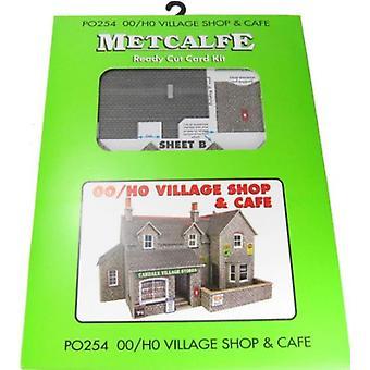 Metcalfe Po254 00/H0 Gauge Village Shop And Cafe