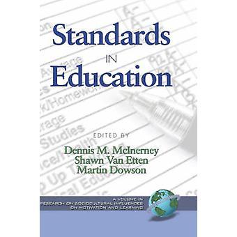 Standards in Education Hc by McInerney & Dennis M.
