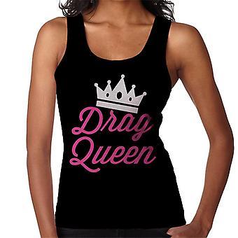 Arraste o colete feminino coroa de rainha