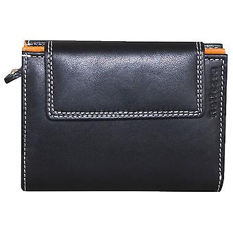 Rallegra Everyday Purse - Black/Orange