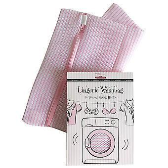 Secret Weapons SW-038 Women's Fashion Essentials Pink Lingerie Wash Bag