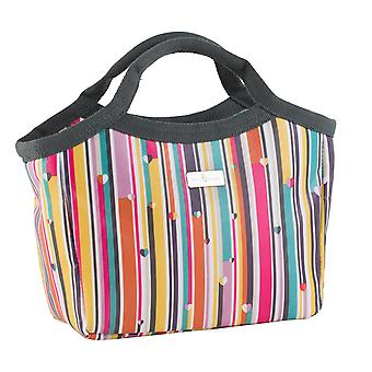 Beau & Elliot Linear Stripe Insulated Lunch Handbag