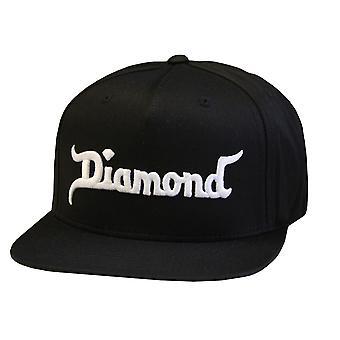 Diamond Supply Co King Snapback Black