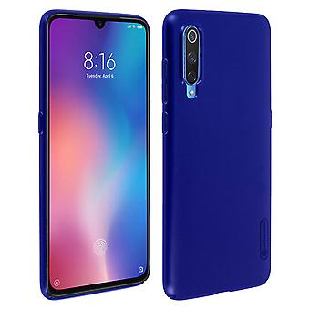 Frosted Shield Nillkin Set: Couverture - stand vidéo pour Xiaomi Mi 9 - Dark Blue