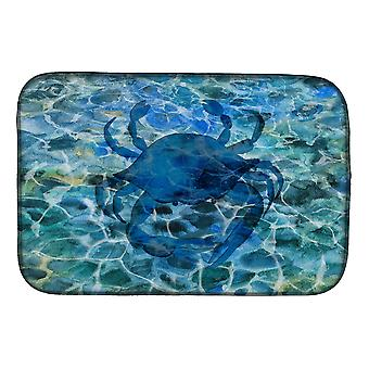 Carolines Treasures  BB5369DDM Blue Crab Under Water Dish Drying Mat