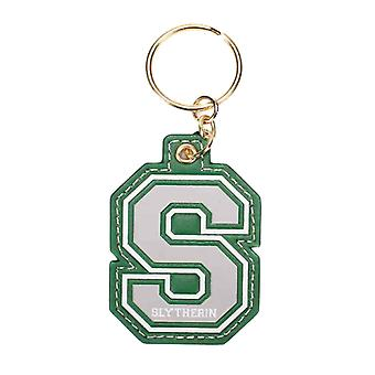 Harry Potter Keyring Keychain S For Slytherin varsity Logo new Official