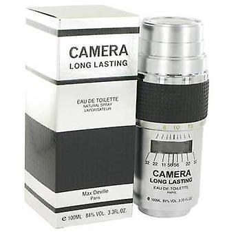 Caméra Longue durée par Max Deville Eau De Toilette Spray 3.4 Oz (hommes) V728-516068