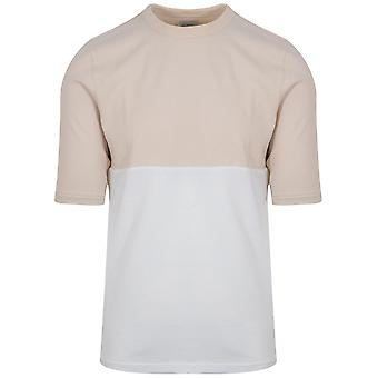Les Basics Beige & White Le Football Shirt