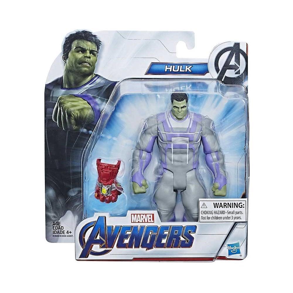 Marvel Avengers Hulk Deluxe film 6 tums Action figur