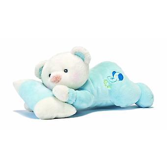 Aurora monde 10 pouces Snuggles somnolent (bleu)