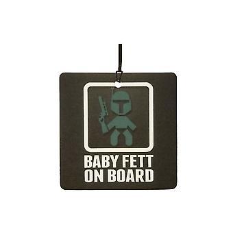 Baby Fett aan boord van de auto luchtverfrisser