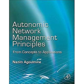 Principes de gestion de réseau autonome : des concepts aux applications
