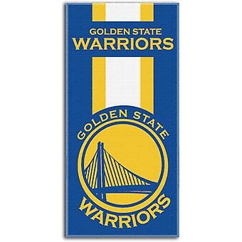 Northwest NBA Strandtuch ZONE Golden State Warriors 76x152cm