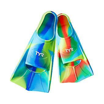 Tyr Stryker Kids Silicone Fin Clear Multi