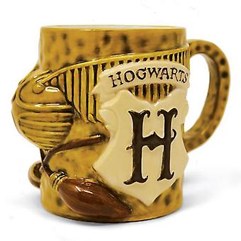 Harry Potter 3D Mug Quidditch