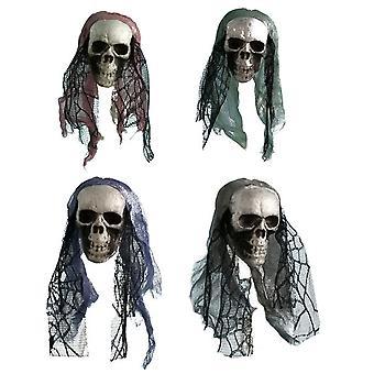 Halloween-skelet schedel eng hoofd
