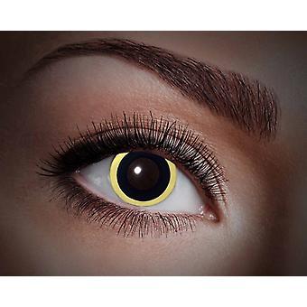UV contactlenzen zwart licht Eclipse Eclipse