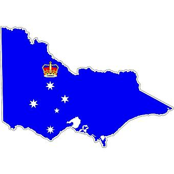 Aufkleber Aufkleber Adhesif Vinyl Auto Flagge Victoria Australien