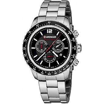Wenger Men's Watch 01.0853.107 Chronographs
