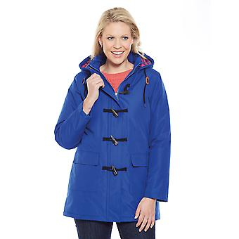 Amber Ladies Check Fleece Lined Jacket