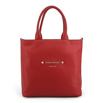 Versace jeans women's shopping bag red e1vsbbs1