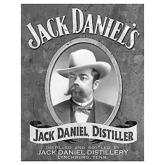 Jack Daniel's Distiller Metal Sign