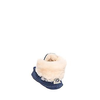 UGG Australia Girls I Sparrow Suede Ankle Slip On Snow Boots