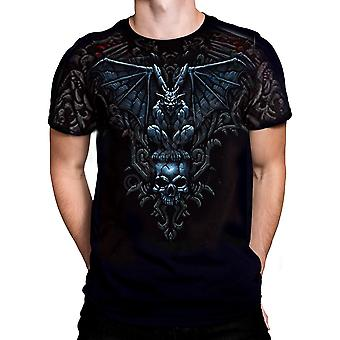 Liquid blue - gargoyle - t-shirt