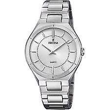 Festina Elegance Silver Stainless Steel Quartz Ladies Watch F20244/1