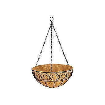 Garden Pride Hanging Basket - Scrolled Design