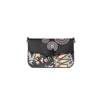 Desigual Women's Guernica Amorgos Patterned Cross Body Bag