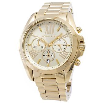 Michael Kors Bradshaw chronograaf Gold-Tone MK5605 Unisex horloge