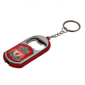 Liverpool FC avaimen perä tasku lamppu pullon avaaja