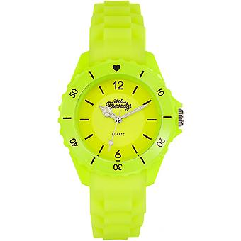 Watch Miss Trendy KL311 - Silicone geel kind