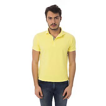 Polo short sleeves Yellow Bagutta men