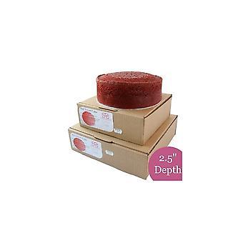 Dolce successo Rosso Velluto Sponge Cake - Rotondo - 8