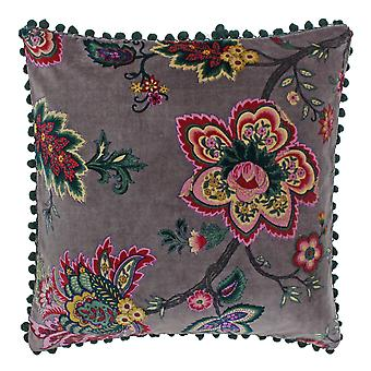 Riva Home Palampur Indian Floral Print Polyester Filled Cushion