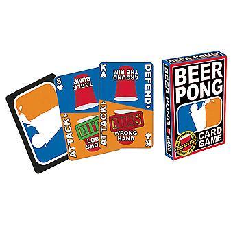 البيرة بونغ بطاقة لعبة