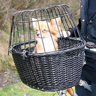 Trixie Wicker Bike Basket Osc., Grid (Dogs , Transport & Travel , Bike Accessories)