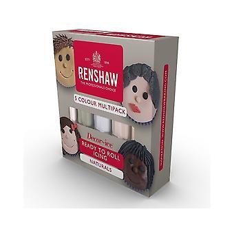 Renshaw - Monipakkaus - Luonnolliset värit - 5 X 100g - Single