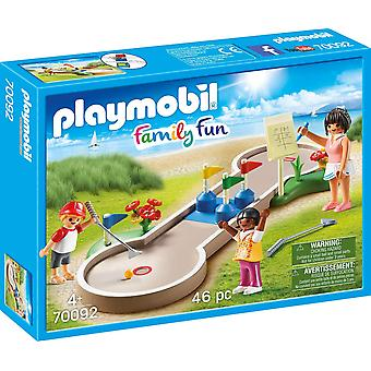 Playmobil 70092 Family Fun Mini-golf 46PC Playset