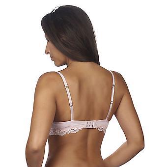 Jälkeen Eden 10.04.6034-041 Naiset's Lyoni Vaalea vaaleanpunainen pitsi ei-wired pehmustettu rintaliivit