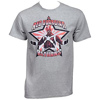 The Red Guardian Returns Black Widow Movie T-Shirt