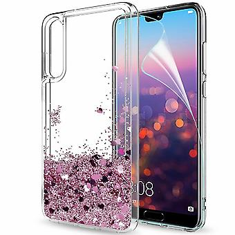 Huawei P20 Pro - Liquid Glitter 3d Bling Shell Case