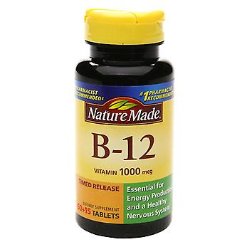 Nature made vitamin b-12, 1000 mcg, dietary supplement tablets, 75 ea