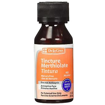De la cruz tincture merthiolate antiseptic, 1 oz
