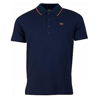 Paul And Shark Mercerized Tipped Polo
